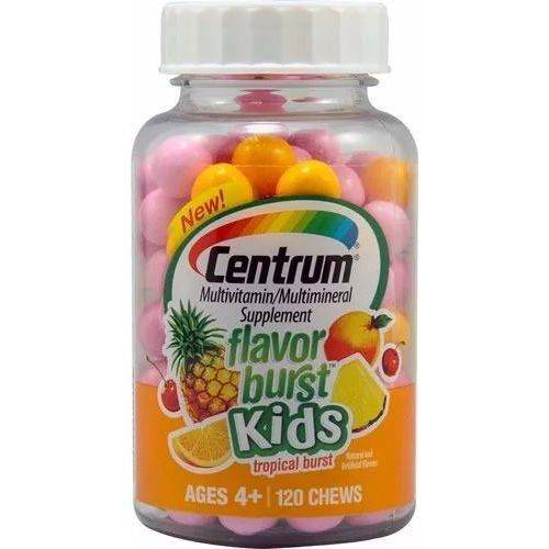 Centrum Kids Multivitaminico Tropical Frutas 120 Chews