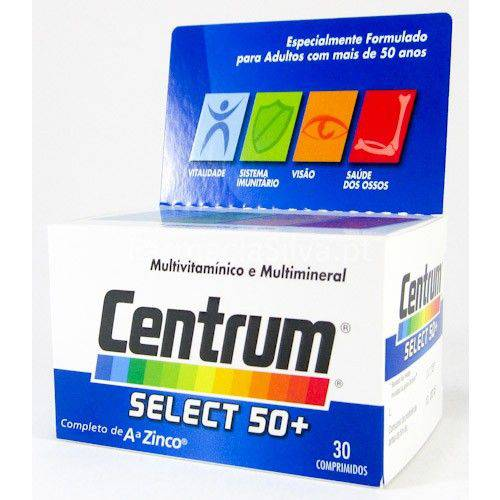 Centrum Select - para Adultos 50+ /30 Comprimido