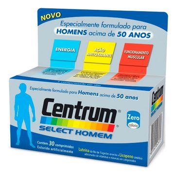 Centrum Wyeth Mip Select Homem CENTRUM SELECT HOMEM 30CPR