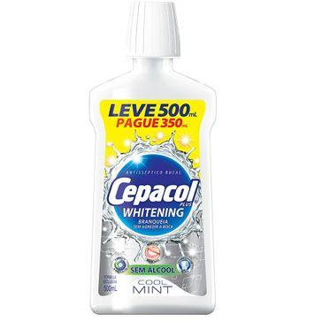 Cepacol Plus Whitening com Leve 500ml Pague 350ml