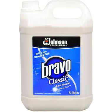 Cera Bravo Classic Incolor 5l