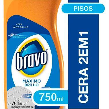 Cera Bravo Flash Incolor 750ml