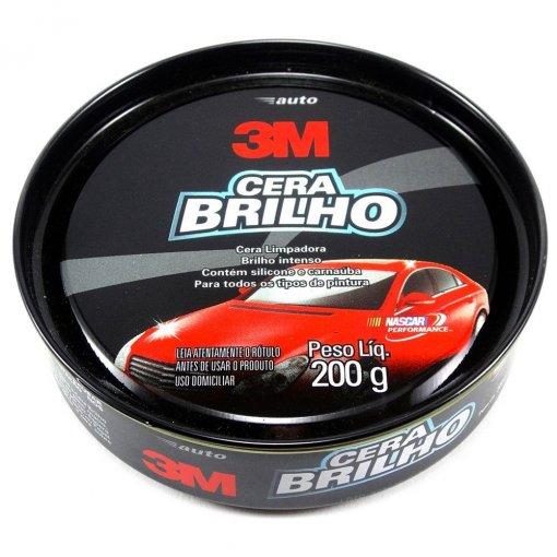 Cera Brilho Automotivo - 200g - 3M