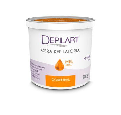 Cera Depilatória Corporal Mel 380g - Depilart