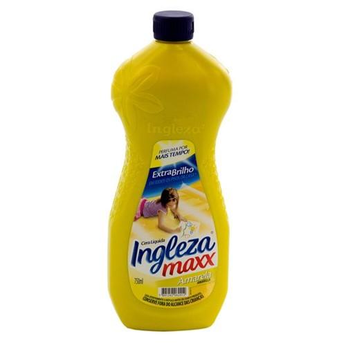 Cera Liquida Ingleza Max 750ml Amarela