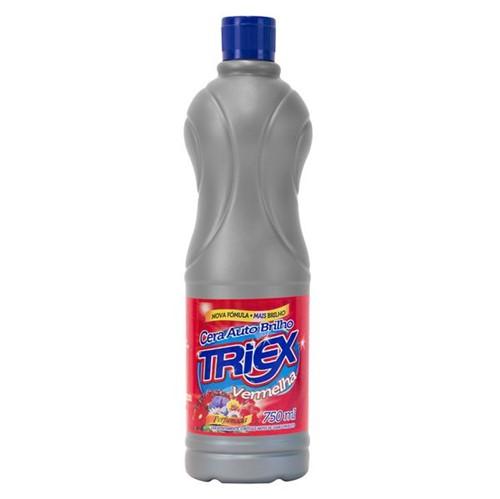 Cera Liquida Triex Auto Brilho 750ml Vermelha