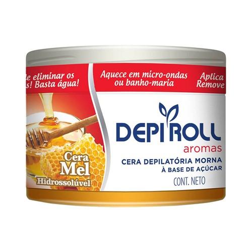 Cera P/ Depilação DepiRoll Hidrossolúvel Mel - 400g