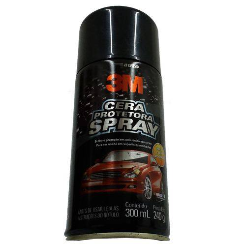 Cera Protetora para Automóveis 3m Spray 300ml