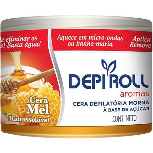 Cera Quente Depi Roll Hidro Mel Pote - 400g