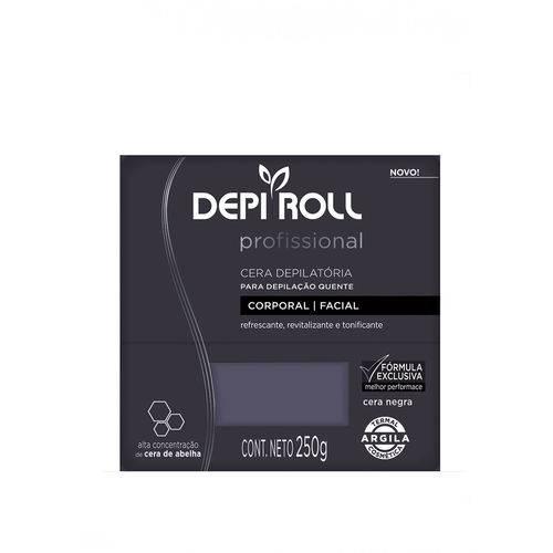 Cera Quente Negra 250 Gr - Depi-roll