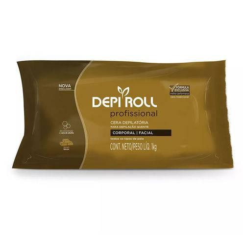 Cera Quente para Depilação Tradicional 1kg Depi Roll