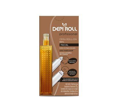 Cera Roll-on Refil Facial 25g - Depi Roll