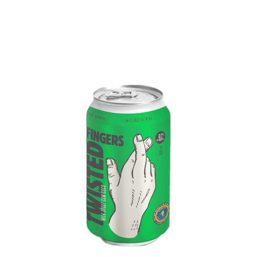 Cerveja 4 Islands Twisted Fingers Milk Stout com Coco 350ml