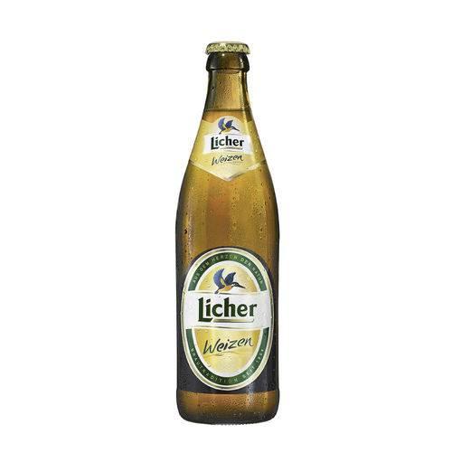 Cerveja Alemã Licher Weizen 500ml
