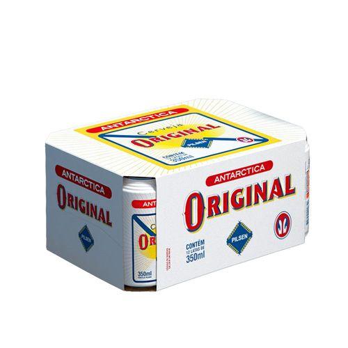 Cerveja Antarctica Original 350ml Pack (12 Unidades)