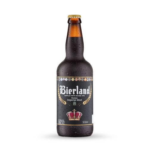 Cerveja Artesanal Bierland Imperial Stout 500ml