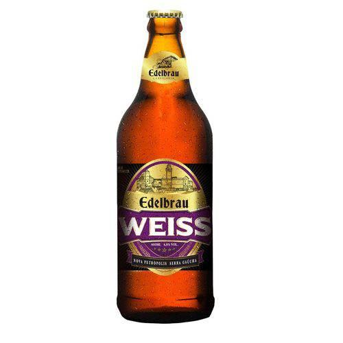 Cerveja Artesanal Weiss Edelbrau 600ml