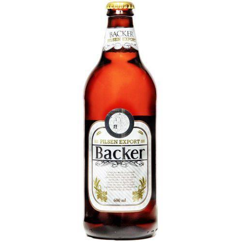 Cerveja Backer Pilsen Export 600ml