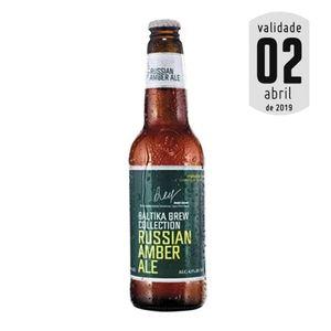 Cerveja Baltika Brew Collection Amber Ale 450ml