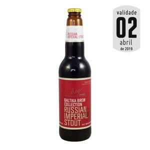 Cerveja Baltika Brew Collection Russian Imperial Stout 450ml
