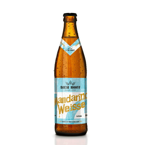 Cerveja Bier Hoff Mandarino Weisse 500ml