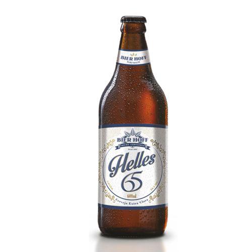 Cerveja Bier Hoff Munich Helles 65 600ml