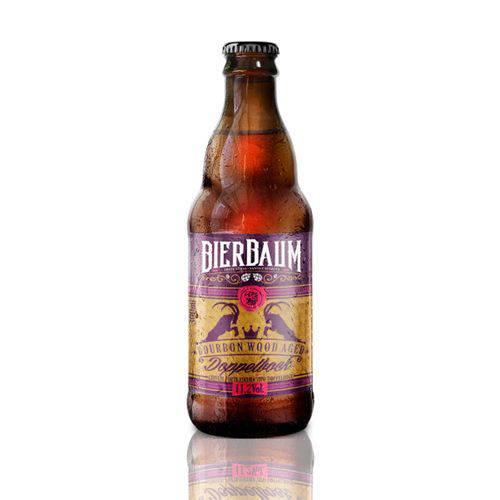 Cerveja Bierbaum Doppelbock Bourbon Wood Aged Garrafa 300ml