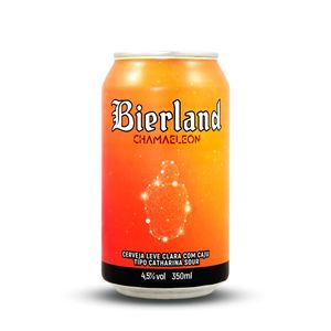 Cerveja Bierland Catharina Sour com Caju Lata 350ml