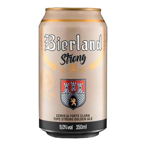 Cerveja Bierland Strong Golden Ale Lata 350ml