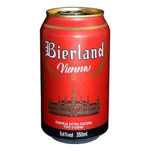 Cerveja Bierland Vienna Lata 350ml + 3 KM