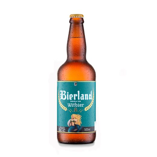 Cerveja Bierland Witbier 500ml
