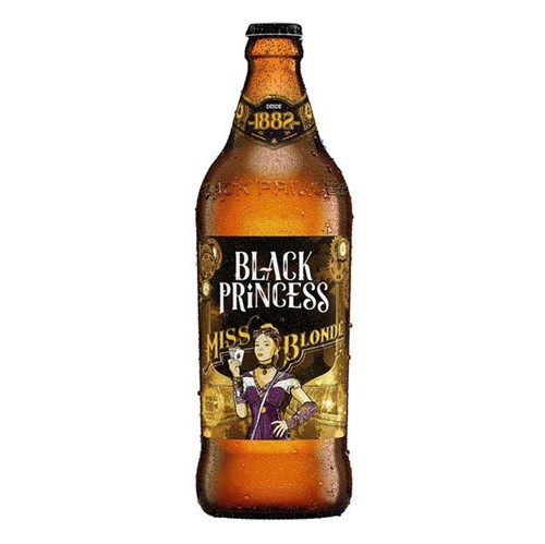 Cerveja Black Princess 600ml Miss Blonde
