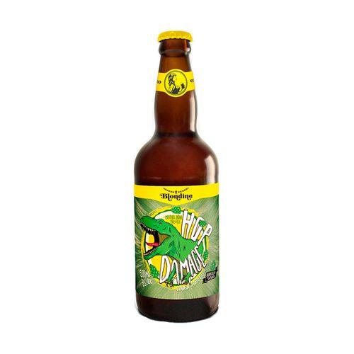Cerveja Blondine HopDamage Imperial IPA 500ml