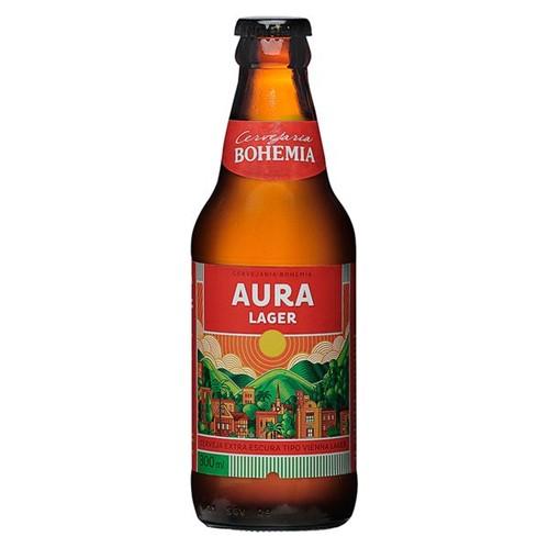 Cerveja Bohemia 300ml Aura Lager