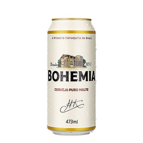 Cerveja Bohemia 473ml Lt