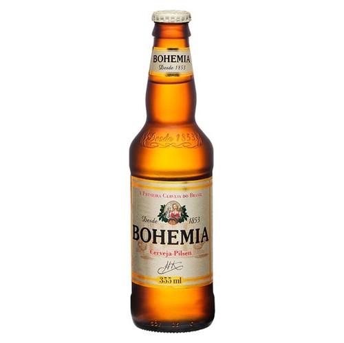 Cerveja Bohemia 355ml Long Neck