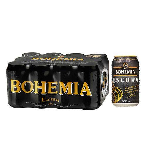 Cerveja Bohemia Escura 350ml Caixa (12 Unidades)