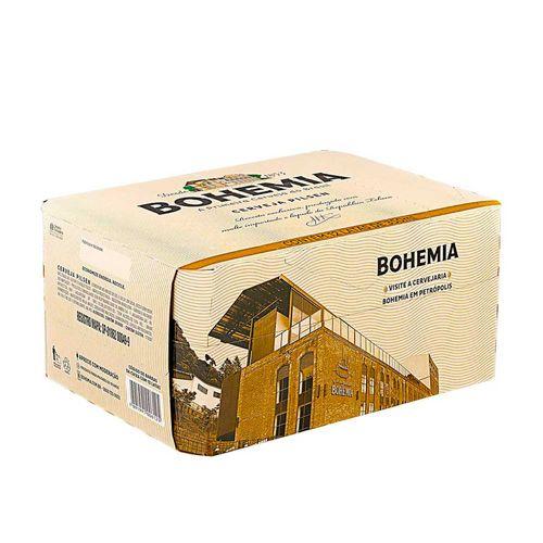 Cerveja Bohemia Puro Malte 350ml Caixa (12 Unidades)