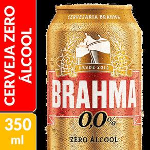Cerveja Brahma 0,0% Álcool 350ml (Lata)