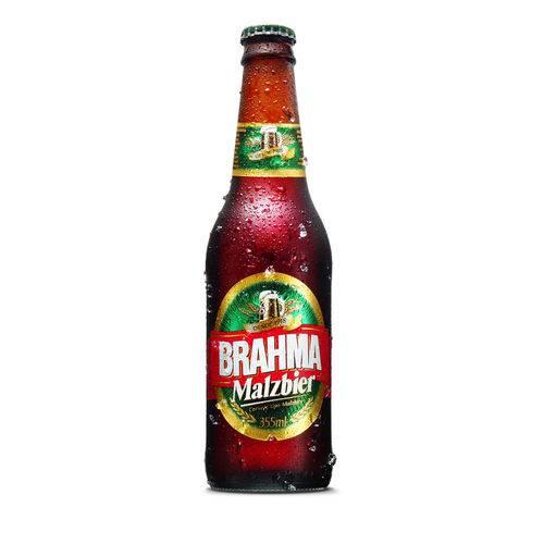 Cerveja Brahma Malzbier Long Neck - 355ml - Unidade