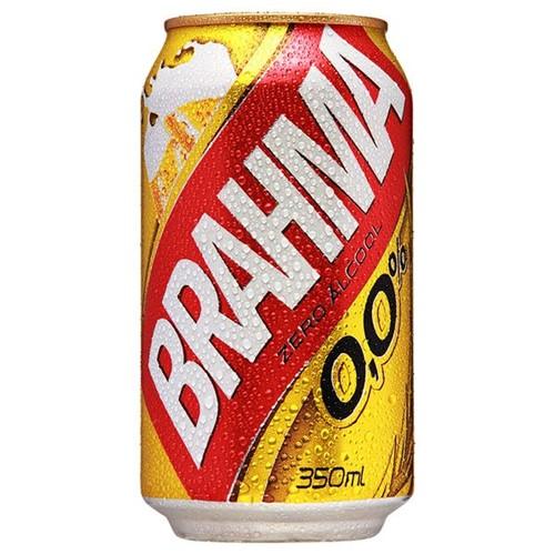Cerveja Brahma Zero 350ml Lata