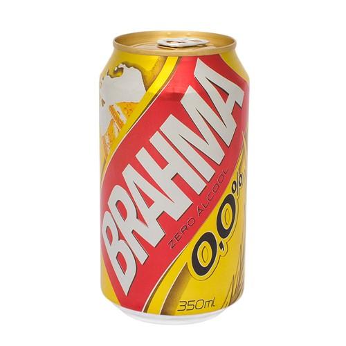 Cerveja Brahma Zero Álcool com 350ml