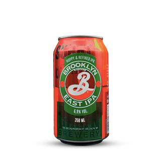 Cerveja Brooklyn East IPA Lata 355ml