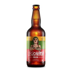 Cerveja Campinas Legionária Weizen 500ml + 26 KM