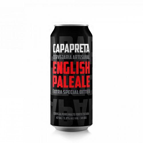 Cerveja Capa Preta Extra Special Bitter English Pale Ale 473ml