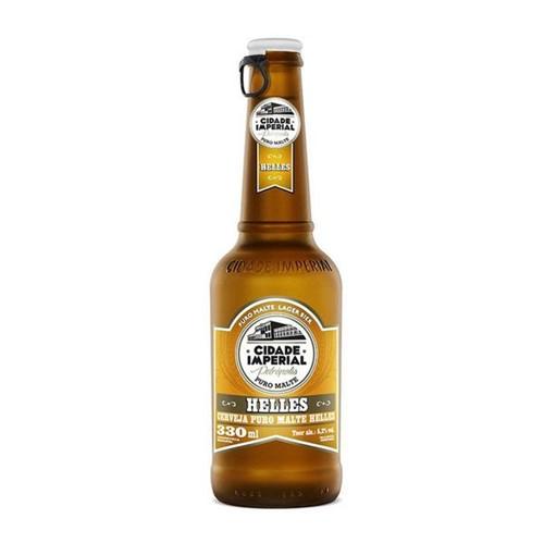 Cerveja Cidade Imperial 330ml L N Helles