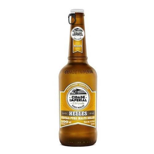Cerveja Cidade Imperial 500ml Helles