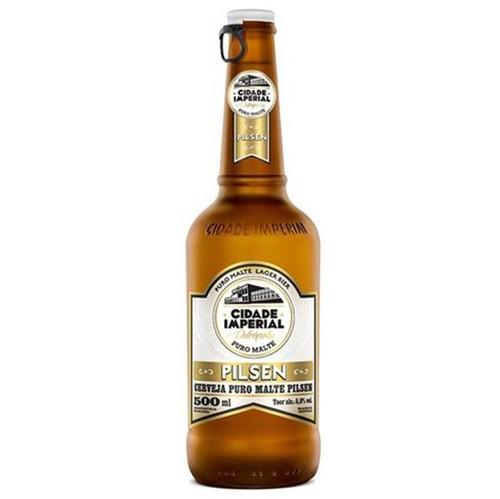 Cerveja Cidade Imperial 500ml Pilsen