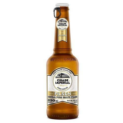 Cerveja Cidade Imperial Pilsen 330ml