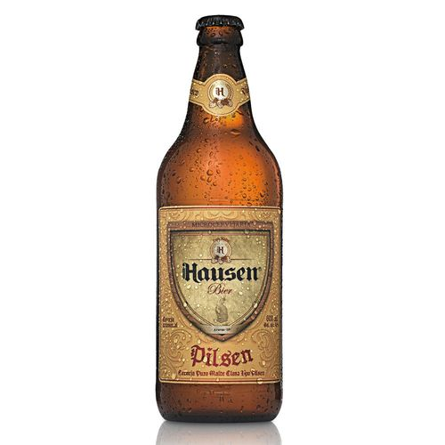 Cerveja Hausen Bier Pilsen 600ml